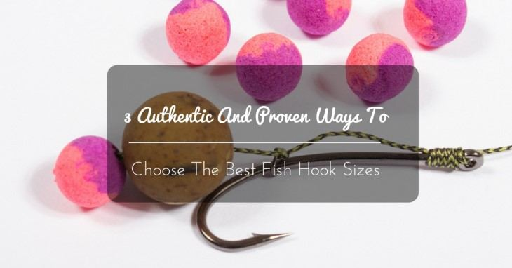 choose the best fish hook sizes