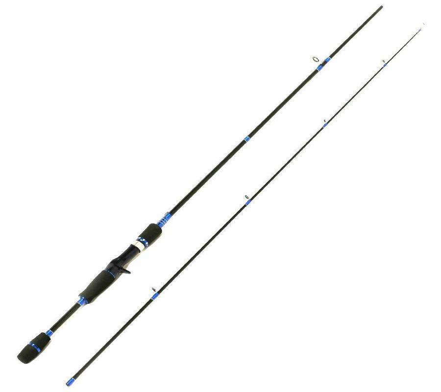 Entsport Sirius 2-Piece 7-Feet Casting Rod Graphite Portable Baitcast Rod